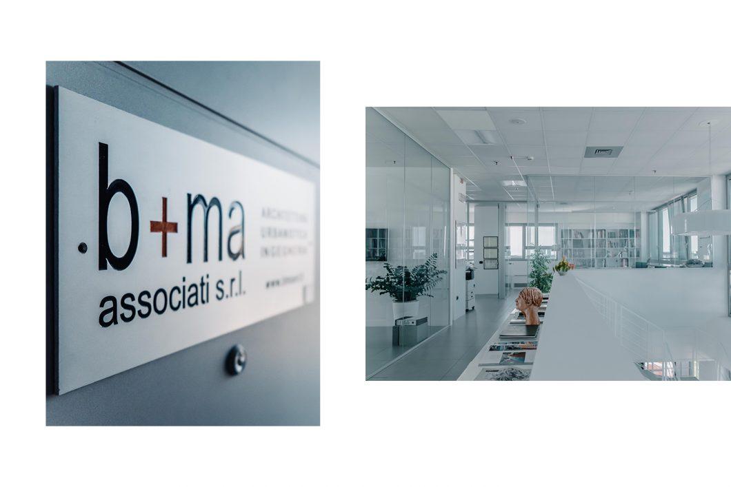 Interior photos for B+M Associati, Brescia