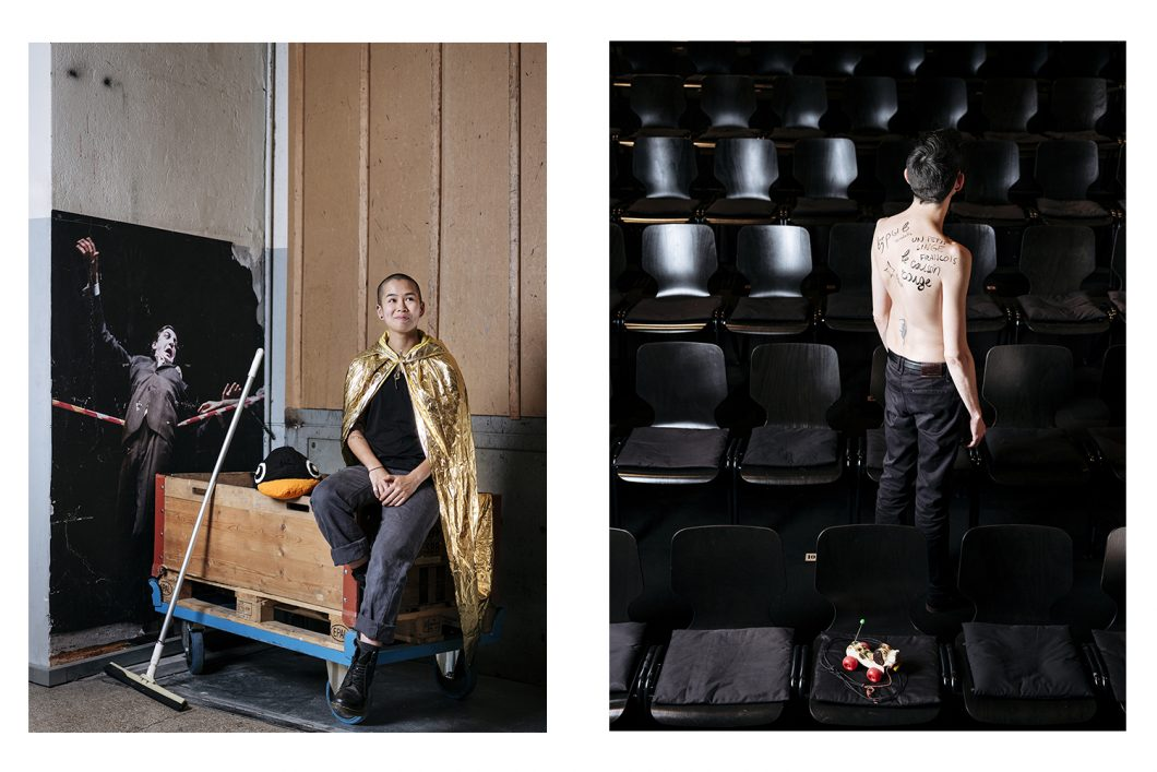 Portraits for the Comédie theatre in Geneva