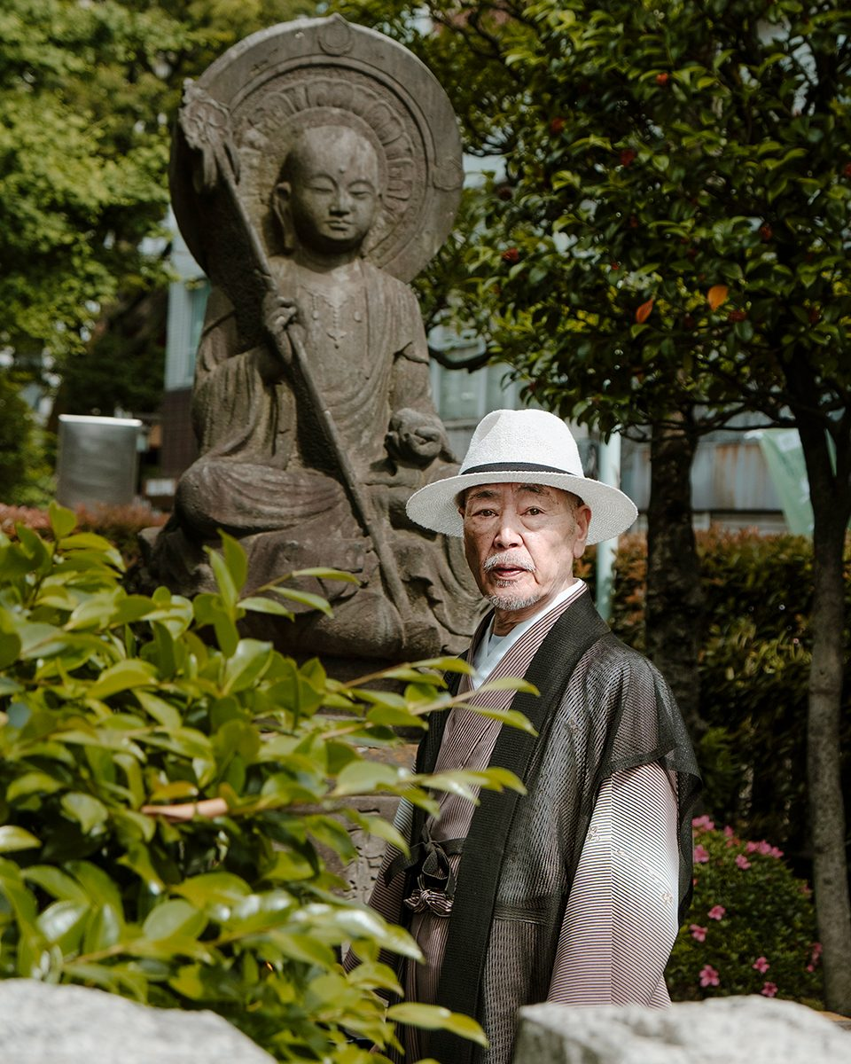 Temple man Tokyo