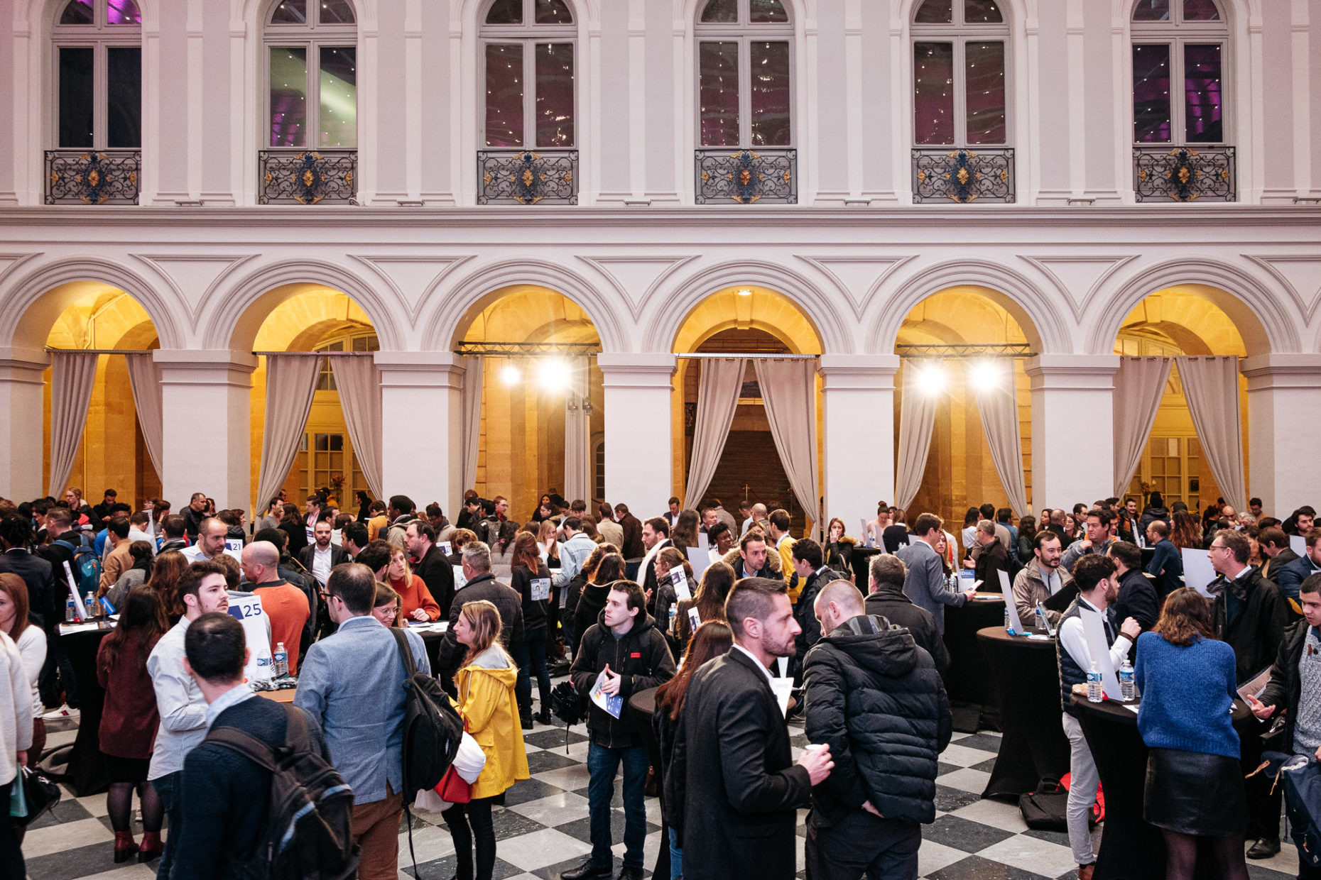 French Tech Day 2019, salle grand angle