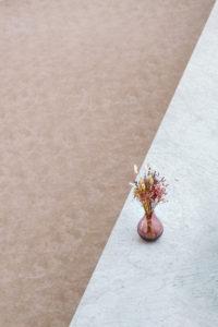 Photo graphique pot de fleurs bureau