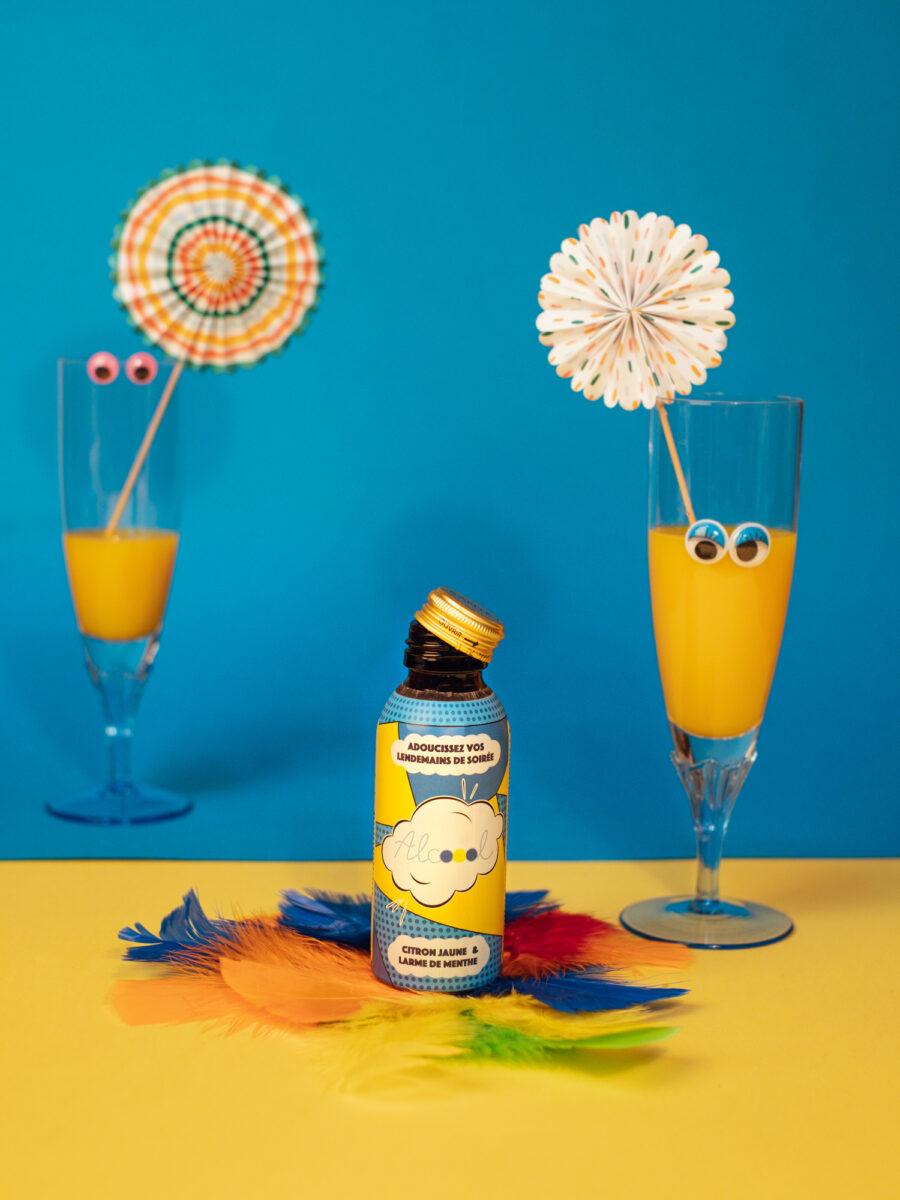Olga Serjantu - Product Photography for Alcoool