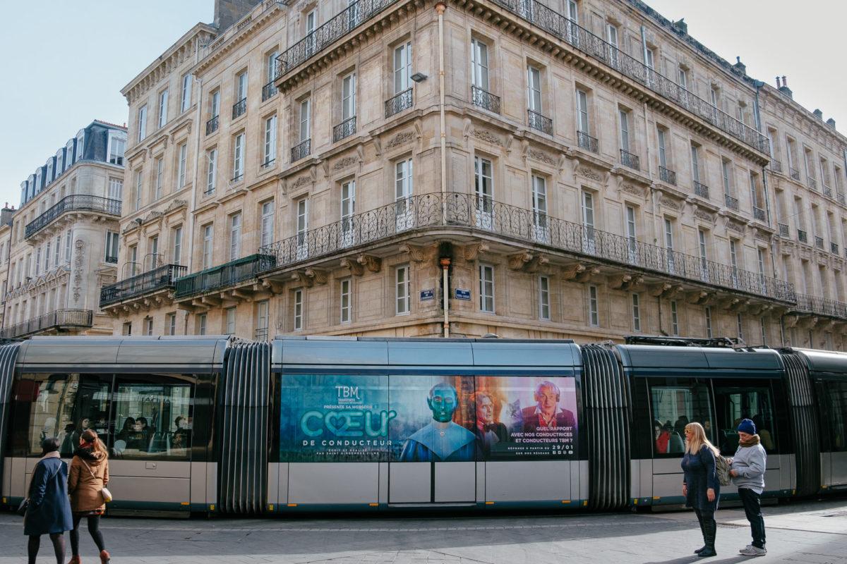 Bordeaux tram Coeur de Conducteur
